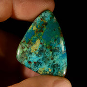 Wonderful Chrysocolla Center Stone 35ct.