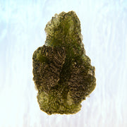 Interesting Aerodynamic Shaped Investor Grade Moldavite Specimen 16.7g