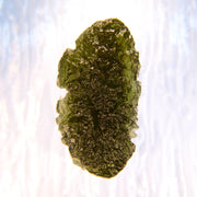 Aerodynamic Genuine Czech Moldavite Stone 13.6g - Arkadia Designs