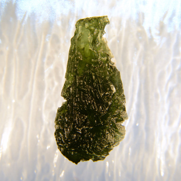 Perfect Drop Shaped Investor Grade Moldavite 10.8g