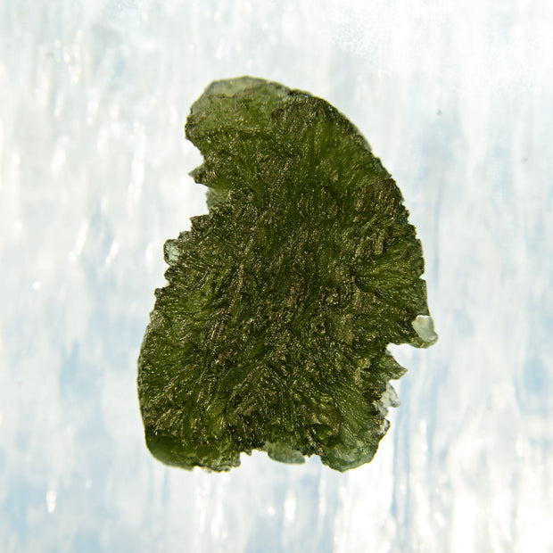Deeply Etched Unusual Spectacular Moldavite Stone 12g