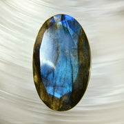Faceted Blue Fire Labradorite 40ct.