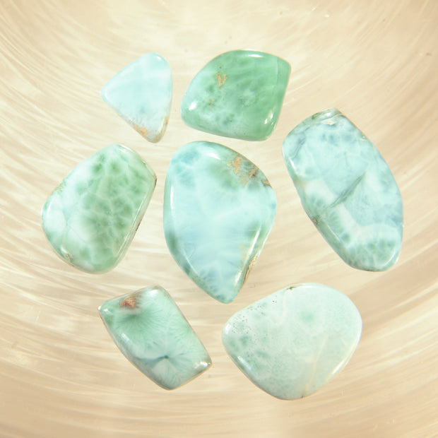 Blue Larimar Gemstones 60ct.