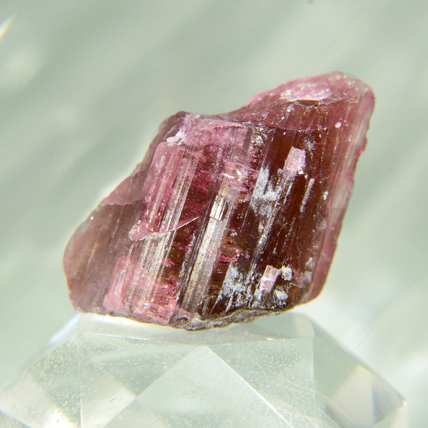 Deep Red Raw Rubellite Crystal - 60 ct