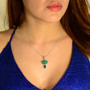 Lovely Aquaprase & Faceted Kyanite Jewelry
