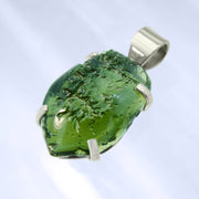 Unique Real Czech Moldavite Pendant