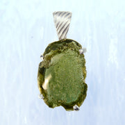 Polished Genuine Moldavite Stone Pendant