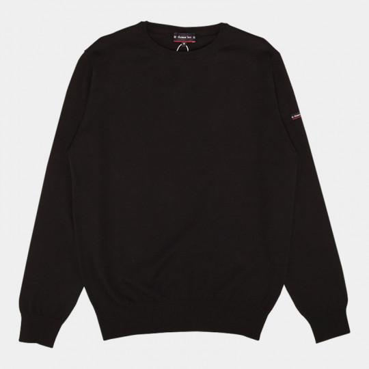 ARMOR LUX PULLOVER CARANTEC HOMME BLACK