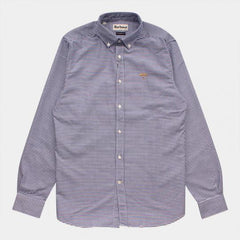BARBOUR SHIRT SALT GINGHAM NAVY