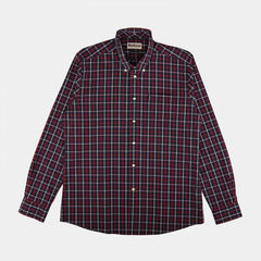 BARBOUR SHIRT TAILORED NAVY
