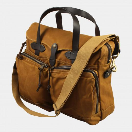 FILSON 24-HOUR TIN BRIEFCASE TAN