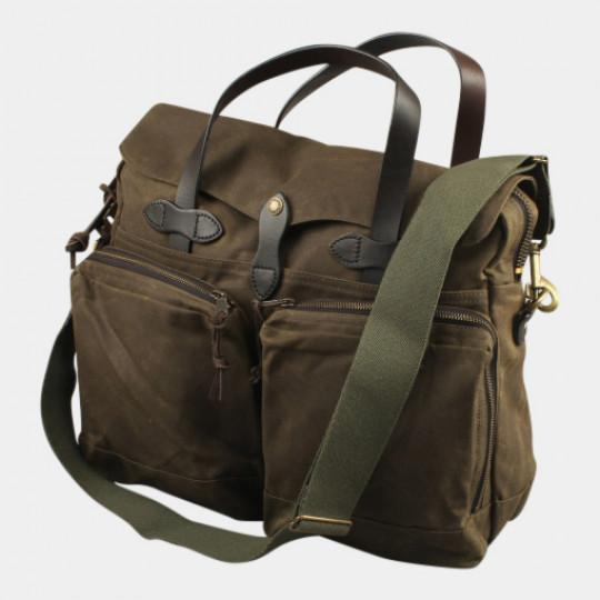 FILSON 24-HOUR TIN BRIEFCASE OTTER GREEN