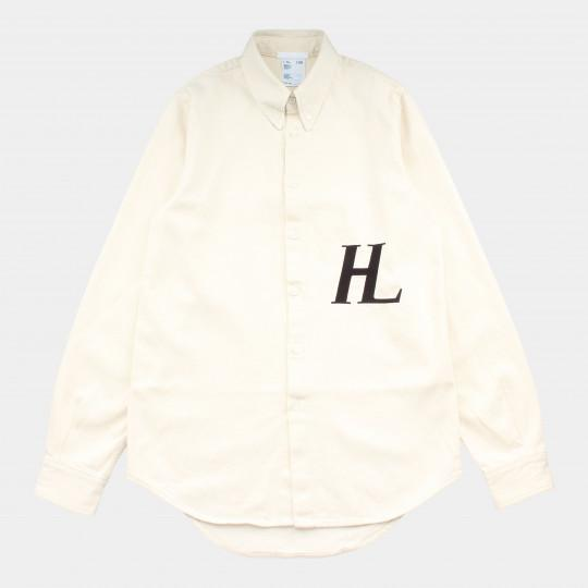 HELMUT LANG SHIRT MASC BUTTON DOWN ECRU