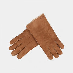 HESTRA GLOVES SUEDE LIGHT BROWN