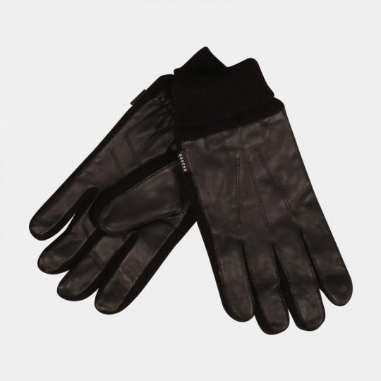 HESTRA GLOVES GAUCHO LEATHER BLACK