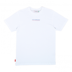 LE FIX T-SHIRT JUMPING LETTERS WHITE