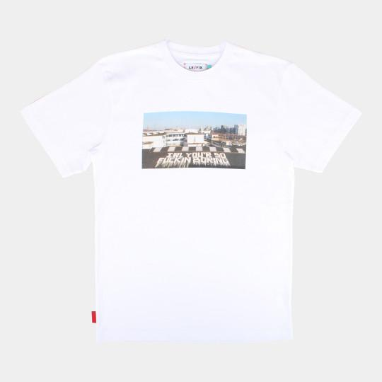 LE FIX T-SHIRT SPYO IRL WHITE