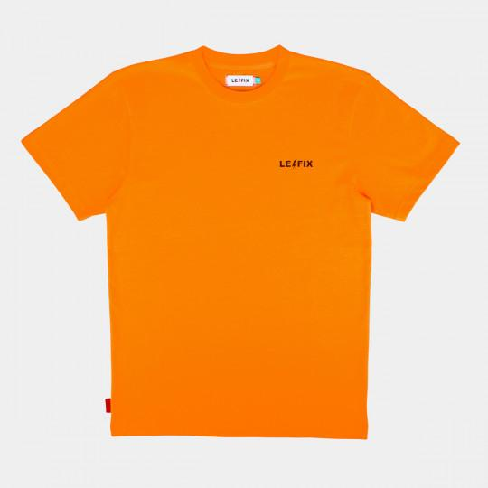 LE FIX T-SHIRT LF WAS HERE ORANGE