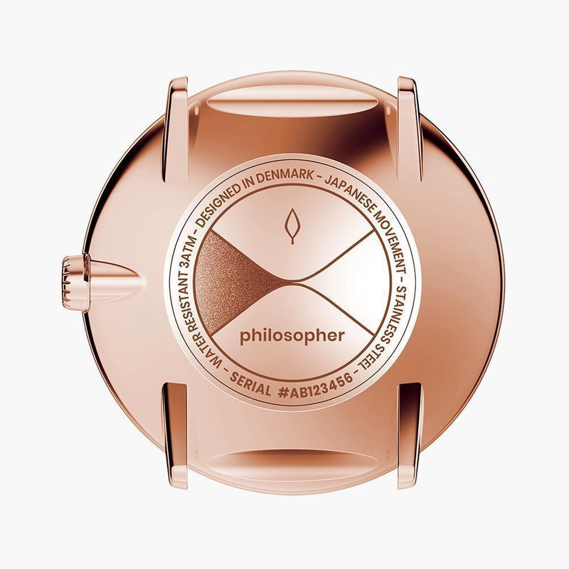 Philosopher - BUNDLE Rose Gold | Brown / Black / Mesh Straps
