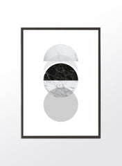 Phases of Moon Marble