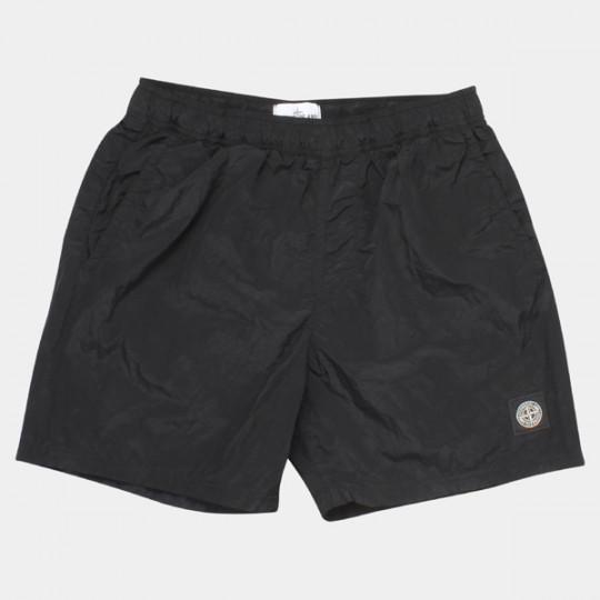 STONE ISLAND SHORTS NYLON METAL BLACK