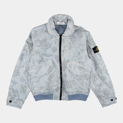 STONE ISLAND JACKET BIG LOOM CAMO-TC CIELO