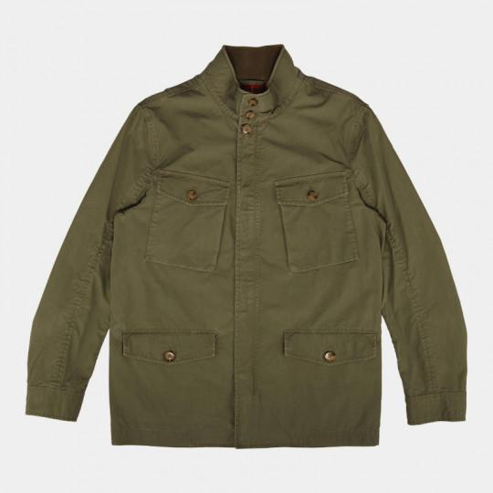 BARACUTA JACKET FIELD ICONIC WASH ARMY