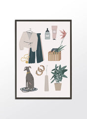 Fashion Accessories Illustration
