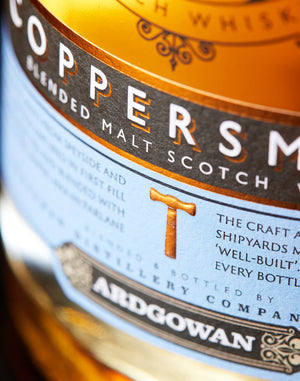 Clydebuilt Coppersmith 48% ABV 70cl