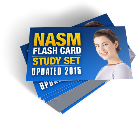 NASM 2015 Flash Card Study Set