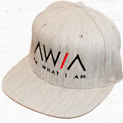 33.95 - AWIA Heather Grey Snapback