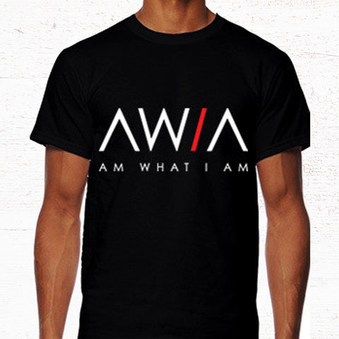 19.50 AWIA Black Tee or Tank