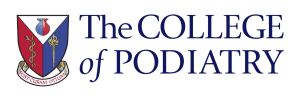 Logo for The College of Podiatry - source of some of our information