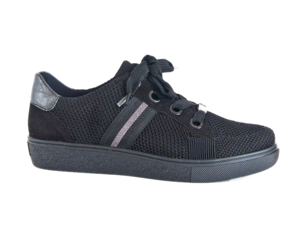 Ara Fusion-4 wide fitting Gore-tex lace-up trainer