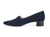 Hi Tec Fabric loafer / trouser shoe-BLACK