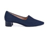 Hi Tec Fabric loafer / trouser shoe-navy blue
