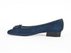 PETAL PUMP-NAVY BLUE