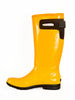 Bright yellow sunshine ladies wellie