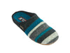 Multi Stripe Slipper
