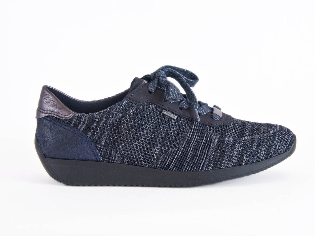 Ara Fusion-4 Gore-tex lace-up trainer