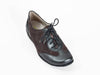 wide ladies shoe comfortable grey extra wide size 9 lace up