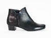 Ara wide fit black leather boots