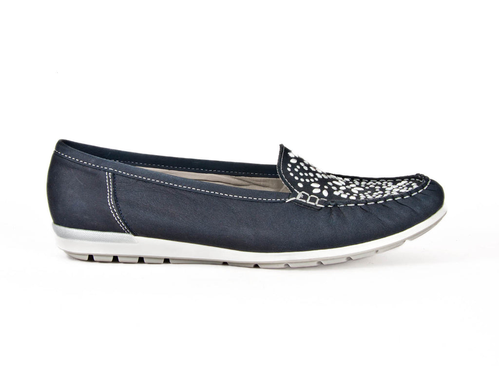 Loafer with sparkles