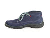 Navy nubuck leather lace-up Gore-tex waterproof ladies ankle boots - at Ellie Dickins Shoes