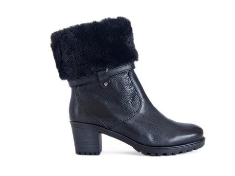 Ara Boot with fur top
