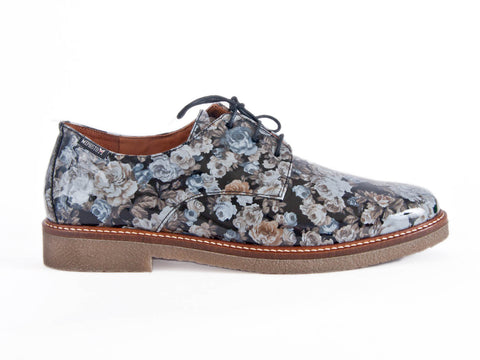 Mephisto floral lace-up