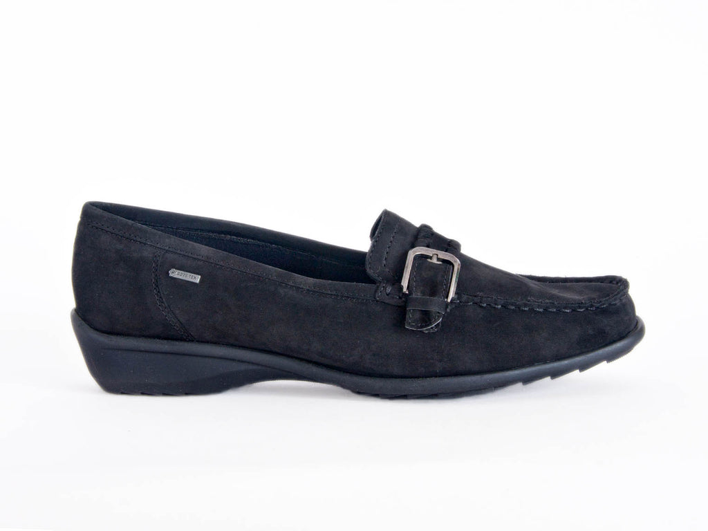 Ara nubuck loafer trim Goretex