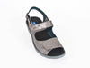 Scala adjustable wedge sandal