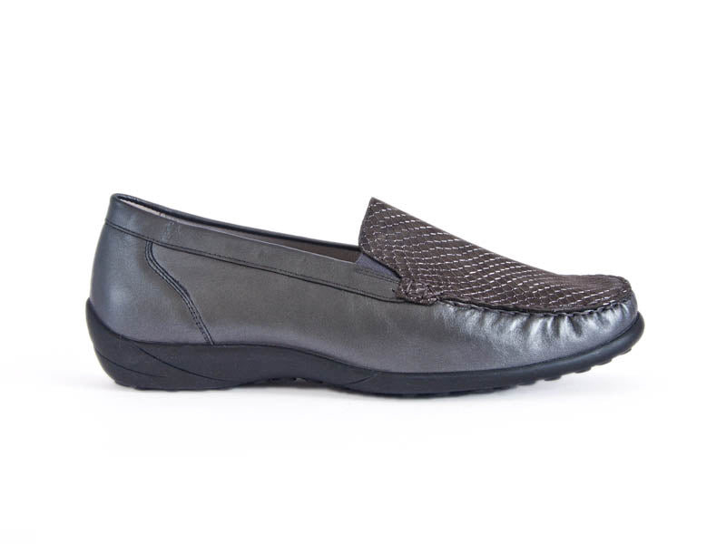Klare leather loafer