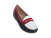 Hesima 3 colour leather loafer